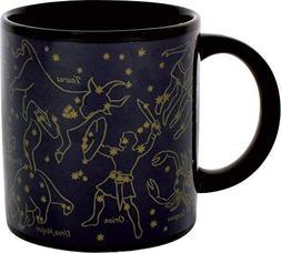Heat Changing Constellation Mug - New Gold Stars - Add Coffe