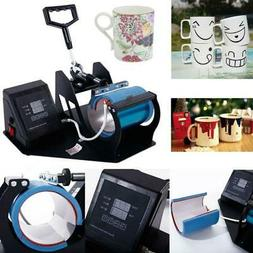 Heat Press Transfer Sublimation Machine Dual Digital for Cup