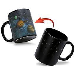 Heat Sensitive Color Changing Coffee Mug Magic Heat Changing