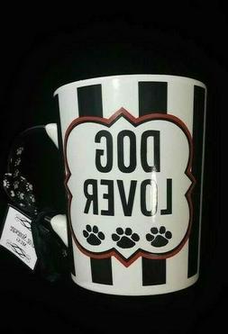 Tumbleweed Mugs heavy cup mug ceramic dog lover 20 ounces br