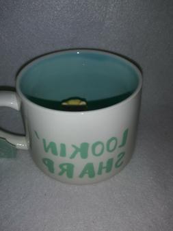 "10 Strawberry Street Hedgehog Inside Cup Coffee Mug ""Lookin"