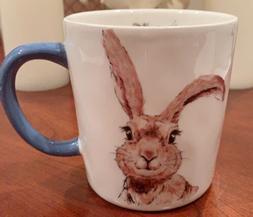 Pier 1 Henry Bunny Collection Easter Rabbit Coffee Tea 16oz