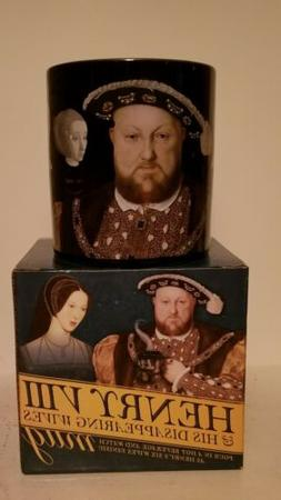 Henry VIII & His Disappearing Wives Novelty Mug Wives Disapp