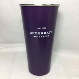 Starbucks Heritage Purple Stainless Steel Tumbler Mug Cup 19