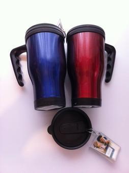 High Quality Travel Coffee Mug Foam insulate 16oz Metallic B
