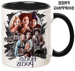 Hocus Pocus, Birthday, Halloween Gift, Black Mug 11 oz, Coff