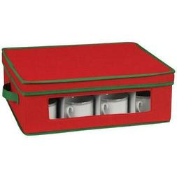 Household Essentials Holiday Cup Chest