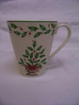 Lenox Holiday Holly Tree Mug, 12 oz.