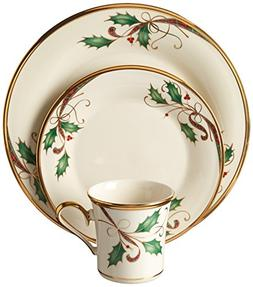 Lenox 12 Piece Holiday Nouveau Gold Dinnerware Set