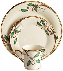 Lenox 12 Piece Holiday Nouveau Gold Dinnerware Set