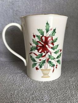 Lenox Holiday Warmest Wishes 'Tis the Season Christmas Mug