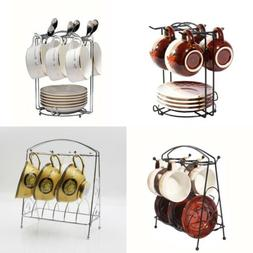 Home Kitchen Bar Mug Dishes Dry Rack Holder Tree Coffee Cup