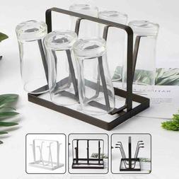 Home Kitchen Bar Mug Tree Dishes Dry Rack Holder Coffee Cup