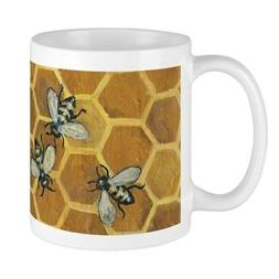 CafePress Honey Bee Coffee/Tea Mug 11 oz Ceramic Mug