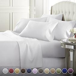 Danjor Linens 6 Piece Hotel Luxury Soft 1800 Series Premium