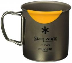 Snow Peak HotLips Titanium Mug Camping Kitchen Cookware Cups