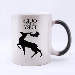 Top House Baratheon Morphing Coffee Mug or Tea Cup,Ceramic M