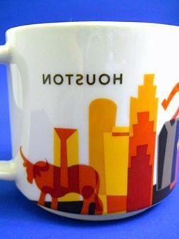 New Starbucks Houston Coffee Mug 2014 You Are Here Downton O