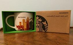 Starbucks Houston You Are Here Collection Series Ceramic Cof
