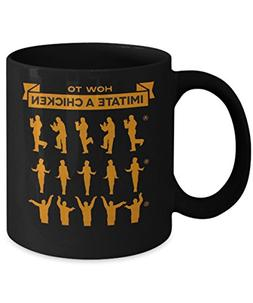 How To Chicken Dance - Arrested Development Mug Cup Black By
