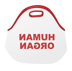 Funny Guy Mugs Human Organ Insulated Neoprene Lunch Bag - Go