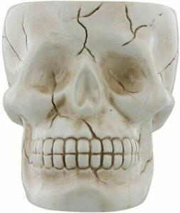 Human Skull Novelty Coffee Mug - Diabolical Bonehead Cup Cer