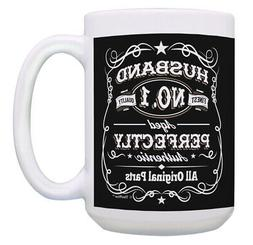 Husband Birthday Cup Authentic All Original Parts 15oz Coffe