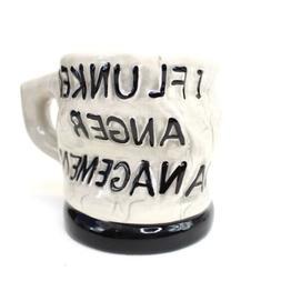 I Flunked Anger Management Coffee Mug 12-oz. - Ceramic Kitch