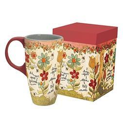 I Keep Dancing Latte Mug by Lang Companies