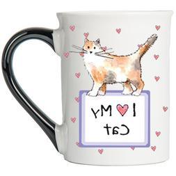 I Love My Cat Mug, Cat Mug, Gifts for Cat Lovers, Pet Coffee