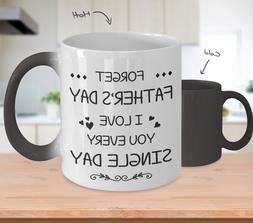 I Love My Dad Mug Funny Color Changing Fathers Day Cup Best