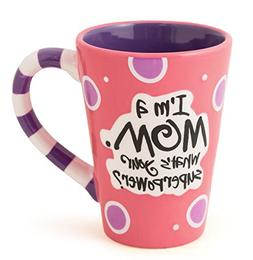 I'm A Mom, What's Your SuperPower? 12oz Coffee Mug Great Gif
