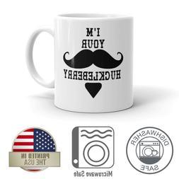 I'm Your Huckleberry 11oz Funny Coffee Mug Dishwasher And Mi