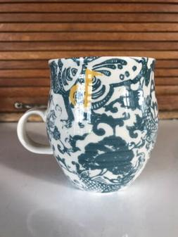 ANTHROPOLOGIE Initial b - Gorgeous floral design mug NWOT