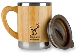 Wildlife Expedition Insulated 11oz Coffee Mug - Stainless St