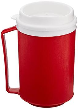 Sammons Preston Insulated Mug with Tumbler Lid, Durable Cont