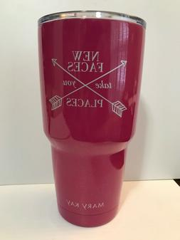 MARY KAY INSULATEDTRAVEL MUG New Faces TakesYou Places -