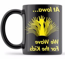 Iowa WAVE Mug Iowa Hawkeyes Coffee Mugs Iowa Football Wave F