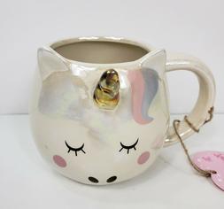 10 Strawberry Street  Iridescent Sleeping Unicorn Mug Cup
