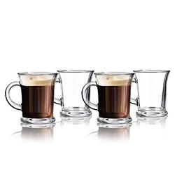 Irish Coffee Mugs - 12 Oz. Footed Glasses, Set of 4 ~ For Co