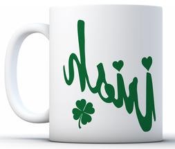 Irish Mugs Novelty Humor Funny Glass Coffee Mug Tea Cup Gift