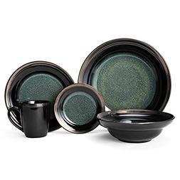 Gourmet Basics Jade Dinnerware Set