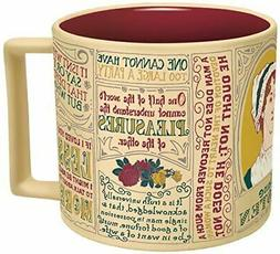 Jane Austen Quotes Mug English Teacher Gift Coffee Cup Unemp