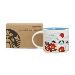 Starbucks JAPAN You Are Here YAH Collectors Mug Winter 14oz