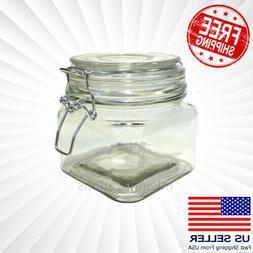 Mason Jar Mug Clear Handle Cup Drinking Vintage NEW 16 OZ Mu