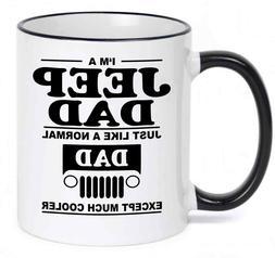 Jeep DAD Coffee Mug - Fathers day Gift - Birthday Gift  Fath