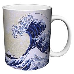 Katsushika Hokusai The Great Wave Japanese Fine Art Ceramic