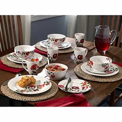 Kim Parker Collection Gourmet Basics by Mikasa® Tulips 16-P