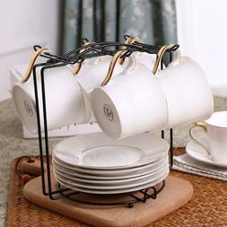 Kitchen Coffee Mug Dishes Tree Metal Holder Cups Organizer D