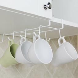 Kitchen Under Shelf Coffee Cup Mug Holder Hanger Storage Rac